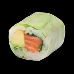 Spring roll saumon avocat (8 pièces)