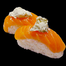 Sushi saumon cheese (2 pièces)